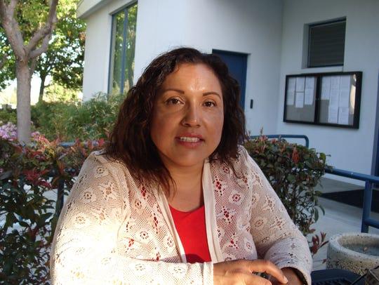 Maribel Briseño, an anti-marijuana activist in Montebello,