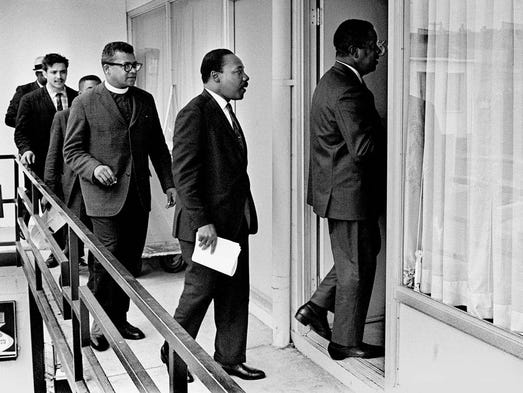 3:00 Wednesday, April 3, 1968 - Rev. Ralph Abernathy