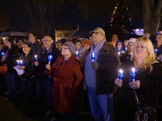 FRM candlelight vigil