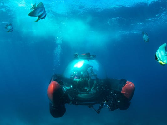 submersible sightseeing