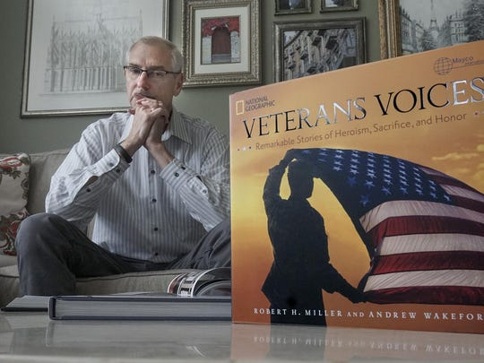 "Canton author Robert Miller talks about ""Veterans Voices: Remarkable Stories of Heroism, Sacrifice, and Honor."""
