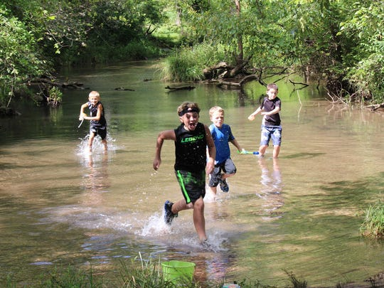 Ritter Springs Day Camp is all about the outdoors,