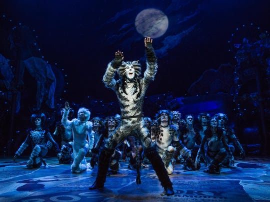 """Andy Huntington Jones plays Munkustrap in the new production of """"Cats."""""""