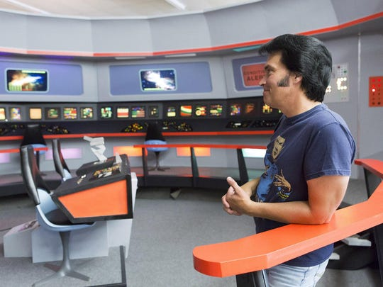 "James Cawley, along with scores of volunteers, has meticulously recreated the set of ""Star Trek: The Original Series"" and put together the upcoming ""Trekonderoga"" event happening in Ticonderoga, New York."