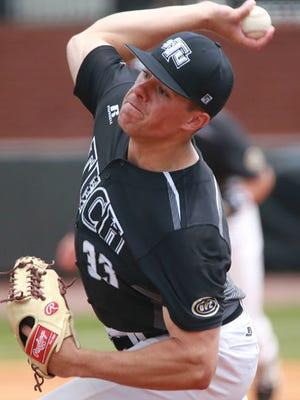Tennessee Tech pitcher Travis Moths