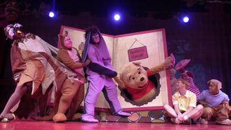 Broadway Palms once delighted its patrons with with events like this presentations of Winnie the Pooh from 2002.