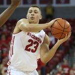 Wisconsin freshman guard Kobe King will miss the rest of the season with knee injury