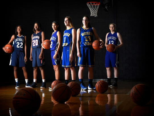 The 2015-16 Lebanon Daily News All-County Girls Basketball