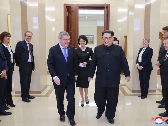Thomas Bach,Kim Jong Un