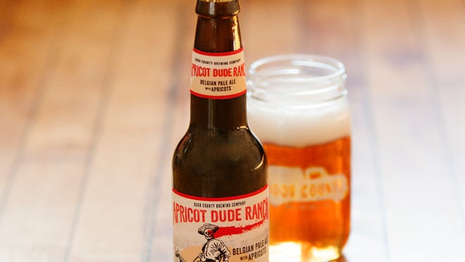 Door County Brewing brings Apricot Dude Ranch to Milwaukee in April.