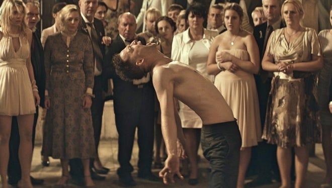 "Strange things happen on the wedding day of Piotr (Itay Tiran) in ""Demon."""