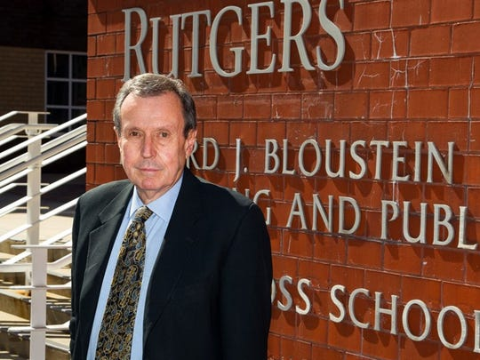 James W. Hughes is  distinguished professor and dean of the  Edward J. Bloustein School of Planning and Public Policy at  Rutgers University.