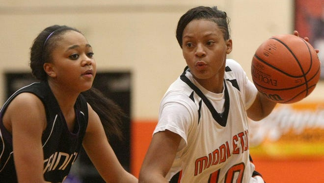 Middleton's Sequoya Warren has stepped right in to help the Lady Tigers to a 60-game winning streak.