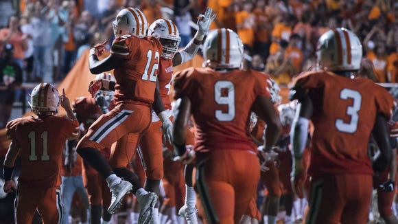 Mauldin, above, will play at T.L. Hanna Friday in one