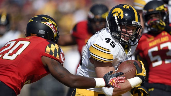 Mark Weisman said it's up to the players to give Iowa a home edge again