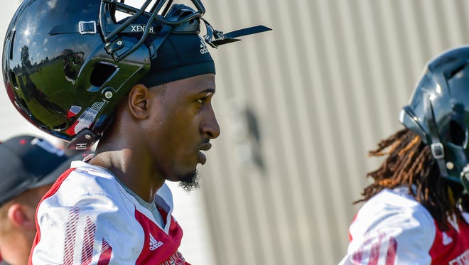 UL cornerback Simeon Thomas is expected to play Saturday at Texas A&M.
