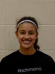 Eva Bosell, Richmond High School softball