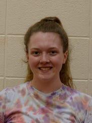 Clara Laughlin, Richmond High School softball