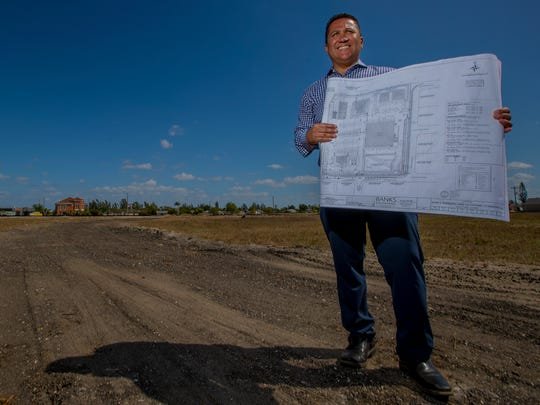 Dan Creighton, of Creighton construction, has new development plans for the southeast lot of Santa Barbara and Veterans Parkway in Cape Coral. The development will include a Lucky's Market organic foods store which will serve as the anchor for the location.