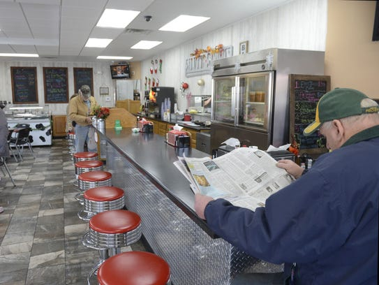 Silver Spoon Cafe is open on East Mason Street where