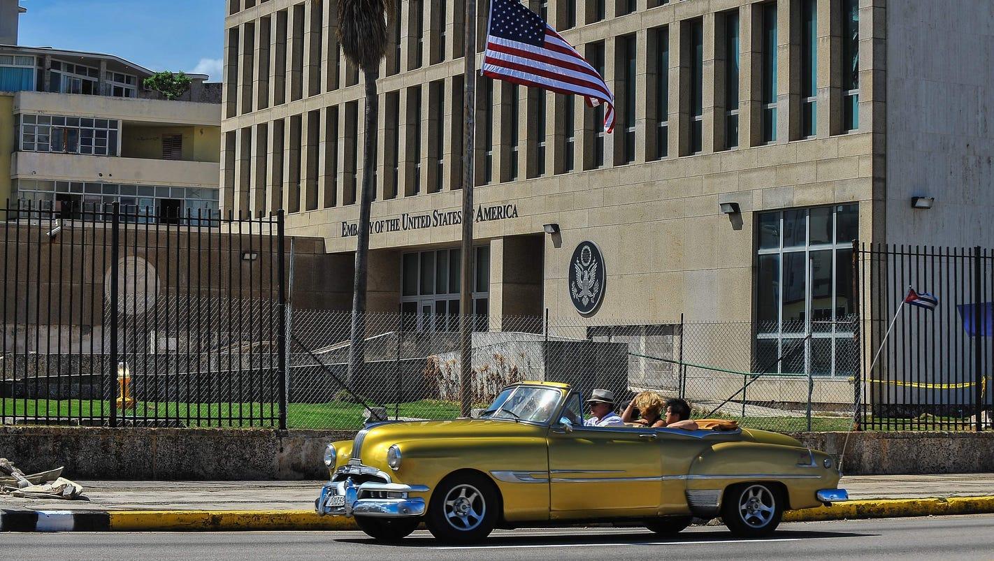 U.S. makes staff cuts permanent at embassy in Cuba