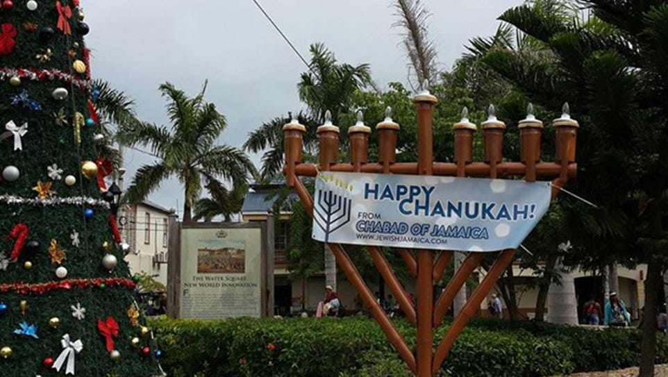 Feel the holiday vibe at the Chanukah on the Beach