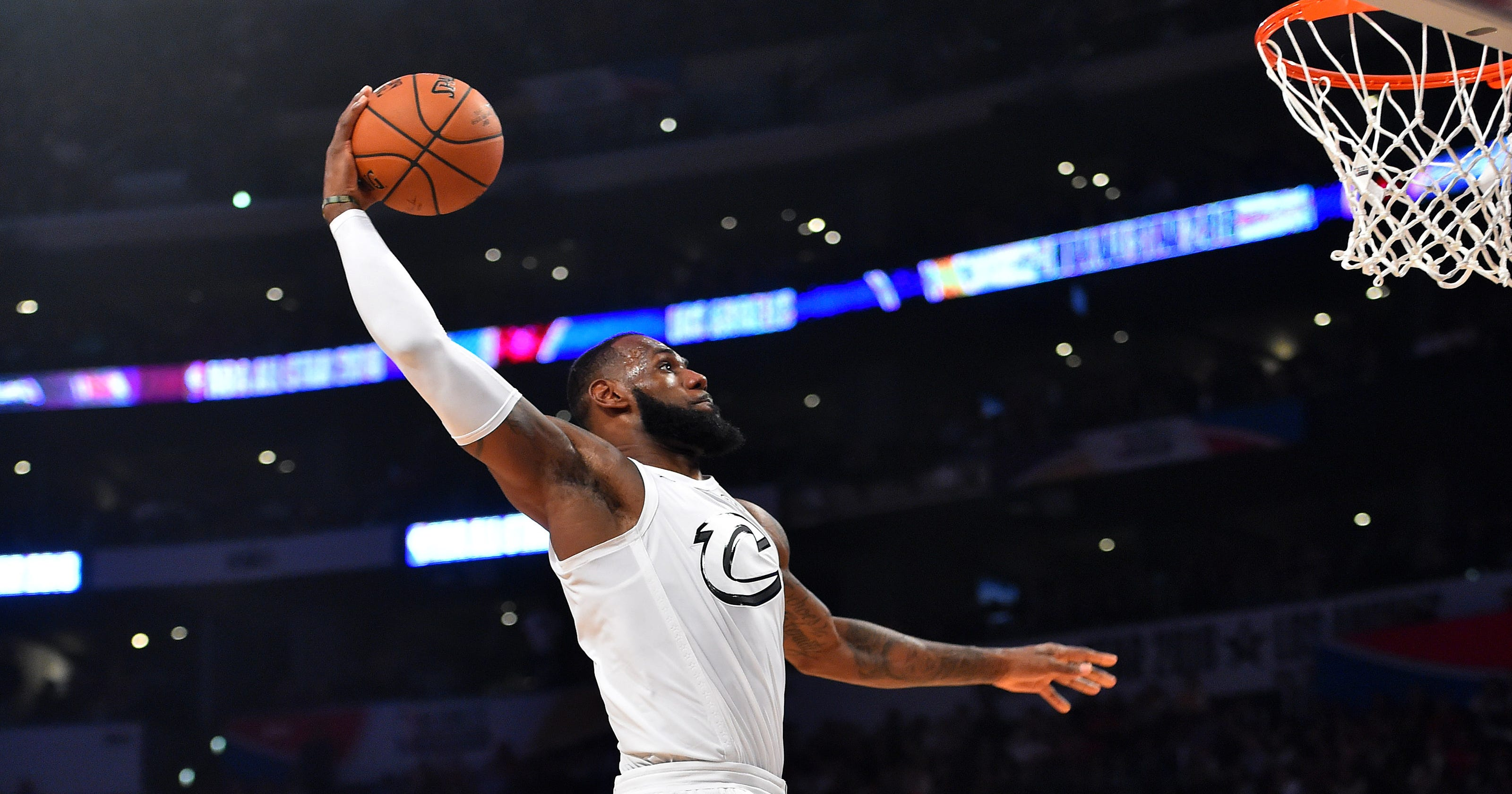 a26ad4419b32 NBA All-Star Game  LeBron James wins third MVP of career
