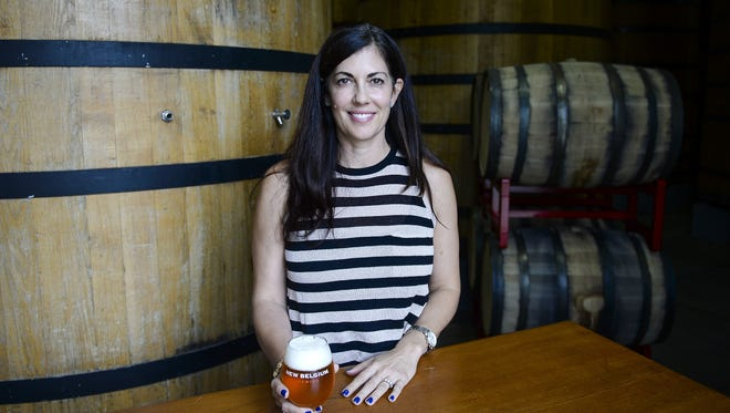 New Belgium Brewing's Christine Perich is stepping down as CEO next month.