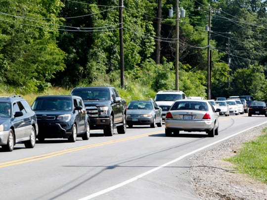 Traffic congestion has become a growing issue for South Asheville residents who came to the polls in strikingly higher numbers for Tuesday's City Council primary.