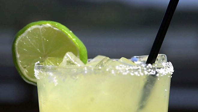 Many people drink margaritas on Cinco de Mayo.