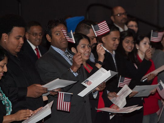 The US Citizenship and Immigration Services held a