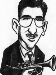 Romy Gosz caricature by Dean Konop.