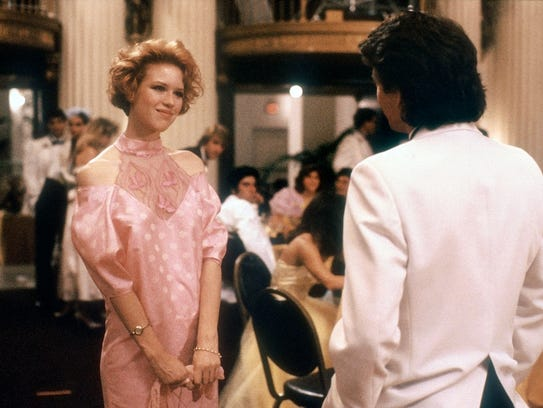 Molly Ringwald and Andrew McCarthy in Paramount's 'Pretty