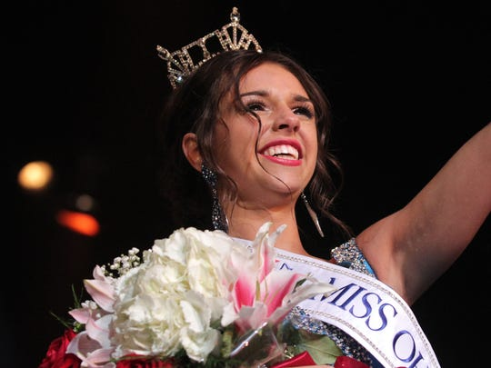 Grace Fusco was crowned as 2017's Miss Ohio Outstanding Teen during the pageant at the Renaissance Theatre on Wednesday. Fusco is a 16-year-old from Kirtland and was crowned as Great Lake's Outstanding Teen before coming to Mansfield.