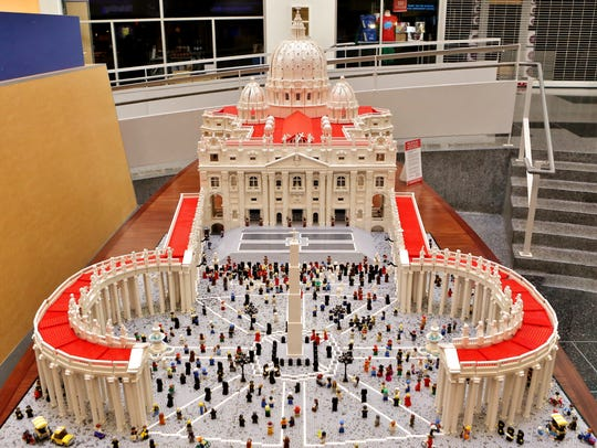 This replica of the Vatican was almost half a million