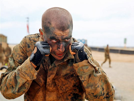 Marine's 10-point plan to cut 83 pounds for boot camp