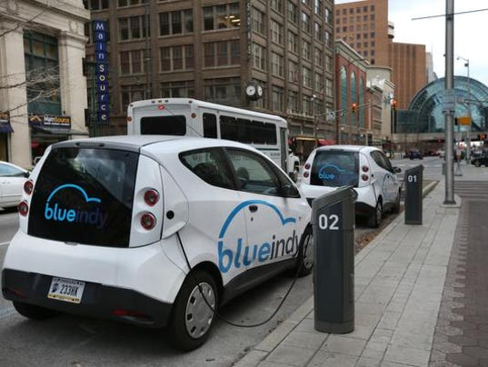 Electric Car Rental In Indianapolis