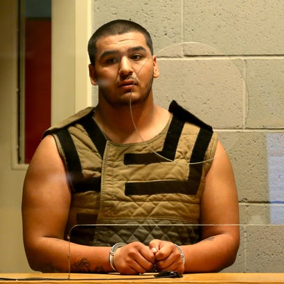 Isaiah Garcia, 18, is arraigned on felony charges,