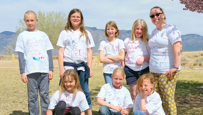 The team from White Mountain Elementary heads to the global finals for Destination Imagination.