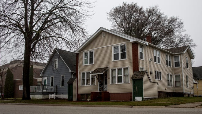 "This rental property at 1040 Chestnut was ""red-tagged"" by the city of Port Huron following a methamphetamine investigation in February 2017. The city proposed plans to boost rental certification fees to pay for additional rental inspectors."