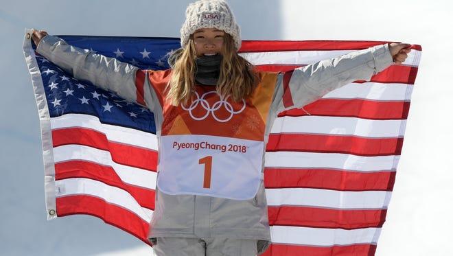 U.S. snowboarder and Olympic gold medalist Chloe Kim