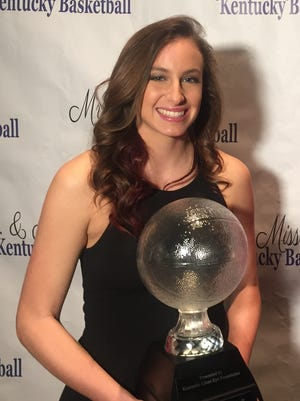 Mercer County's Seygan Robins was named Kentucky's Miss Basketball on March 13 during a ceremony in Lexington, Ky.
