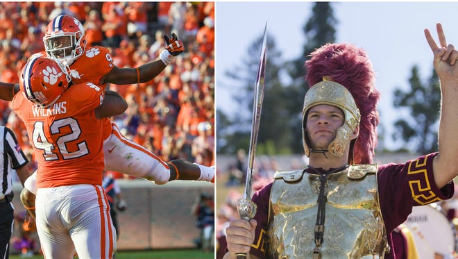 There are some very intriguing college football games this week.