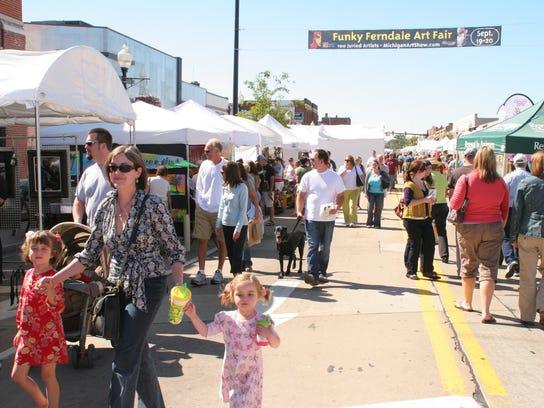 The Funky Ferndale Art Fair will be held Sept. 25-27