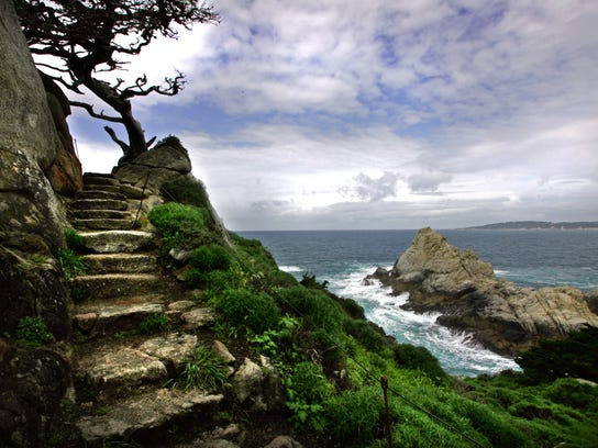 My Tiime story on book review hiking and backpacking Big Sur/Point Lobos