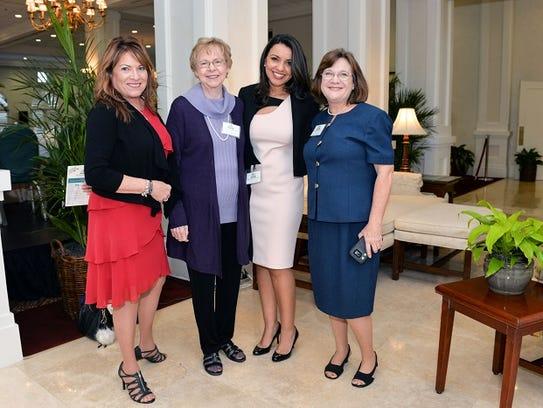 Leah Ginsberg, left, Bibl Counselor, Barbara Gardner,