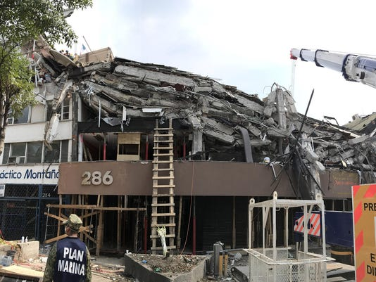 After Mexico City quake, big structural risk remains