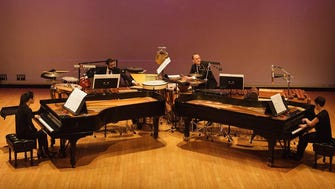 The percussion and piano quartet Yarn/Wire will perform songs from Japanese composer Misato Mochizuki.