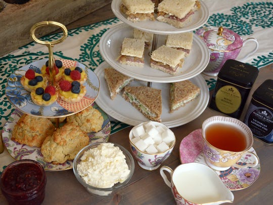 How do you celebrate a royal wedding across the pond? With a tea party at home, of course.