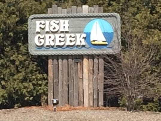Checking out 39 oklahoma in wisconsin 39 for Fish creek wisconsin